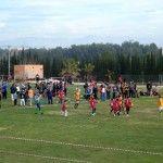 200 ni+¦os y ni+¦as en el II Campeonato de Escuelas de Rugby FERRMUR disputado en Las Torres de Cotillas 1