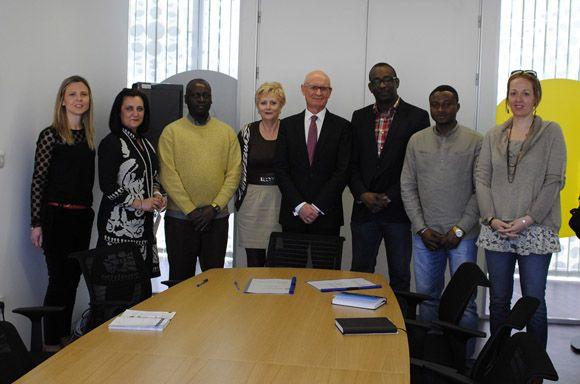 El Ayuntamiento torre+¦o y la Federaci+¦n de Asociaciones Africanas de Murcia firman un convenio de colaboraci+¦n4