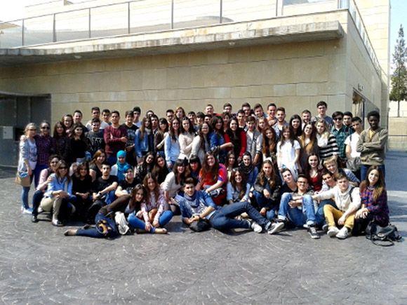 El IES Salvador Sandoval visita la Universidad de Murcia