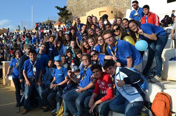 El grupo +ìtaca torre+¦o, mejor animaci+¦n del festival regional de canci+¦n scout