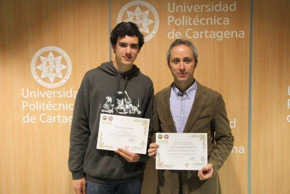 El joven torre+¦o Jorge C+ímara del IES Salvador Sandoval obtiene una Menci+¦n Honor+¡fica en la Olimpiada Matem+ítica