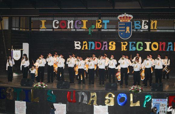 La solidaridad son+¦ en Las Torres de Cotillas a golpe de tambor y de corneta4