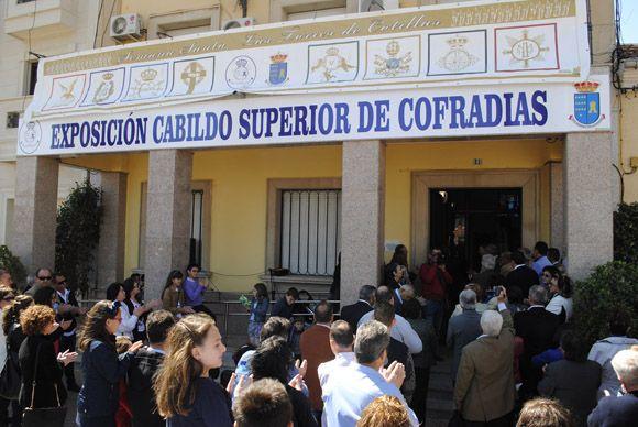 Las Torres de Cotillas arropa al Cabildo Superior de Cofrad+¡as en la inauguraci+¦n de su muestra permanente de la Semana Santa2