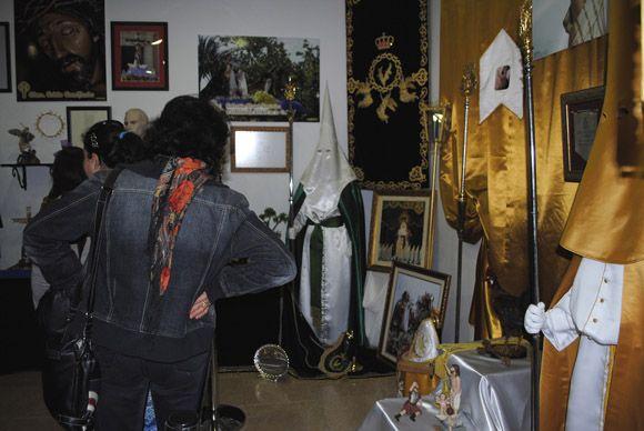 Las Torres de Cotillas arropa al Cabildo Superior de Cofrad+¡as en la inauguraci+¦n de su muestra permanente de la Semana Santa7
