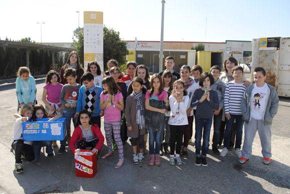 Los escolares torre+¦os visitan el Ecoparque Municipal con las campa+¦as medioambientales locales