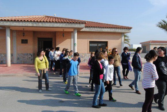 Los escolares torre+¦os visitan la EDAR con las campa+¦as medioambientales municipales