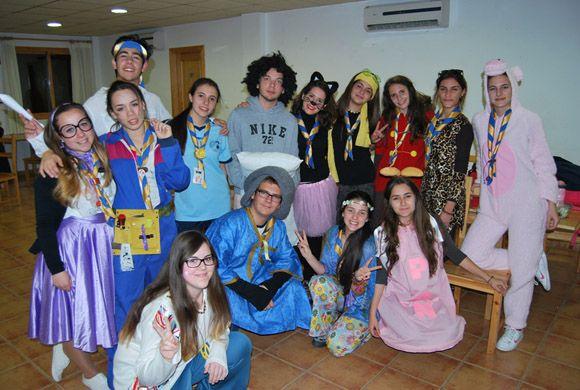 Los scouts de Las Torres de Cotillas celebran el Carnaval con una acampada3