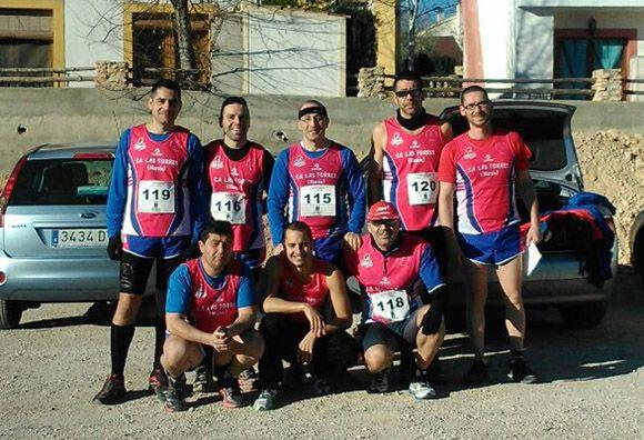Los veteranos del CA Las Torres bronce en el regional por equipos