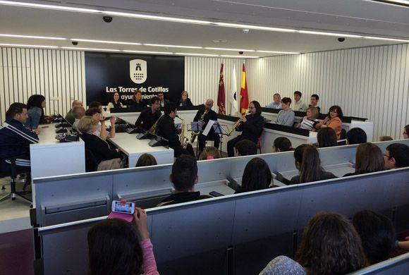 Recepci+¦n Ayto - Comenius colegio Susarte Las Torres