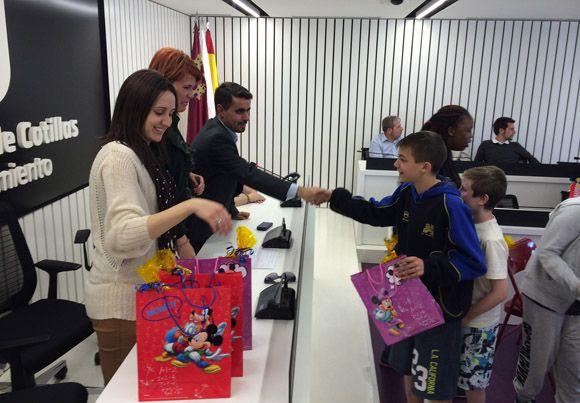 Recepci+¦n Ayto - Comenius colegio Susarte Las Torres3