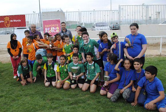 Rugby touch deporte escolar Las Torres de Cotillas4