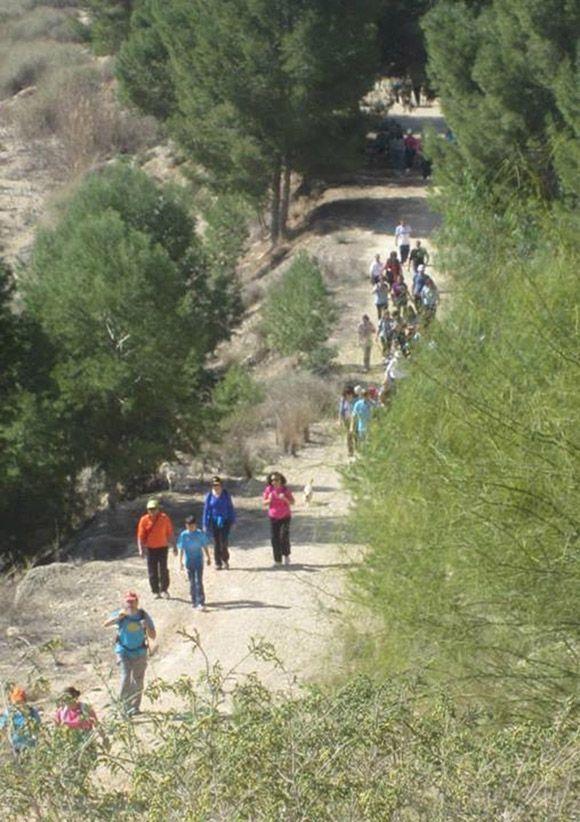 Sendero de los 10.000 pasos - Las Torres de Cotillas6