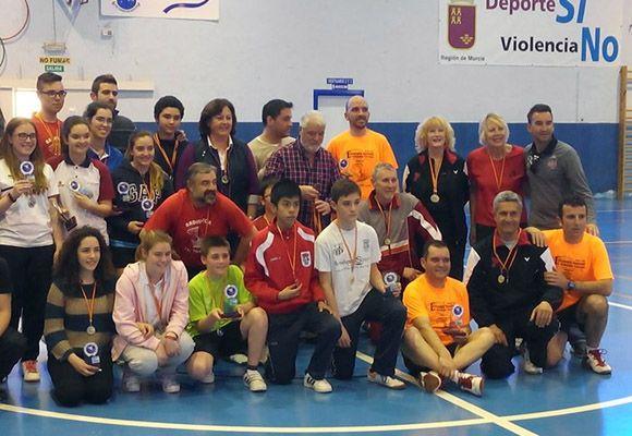 Torneo de b+ídminton Las Torres de Cotillas5