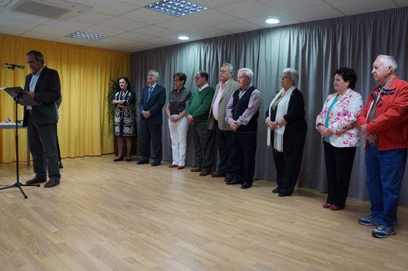 Acto socios adoptivo, predilectos y de honor - Semana Cultura centro mayores Las Torres de Cotillas