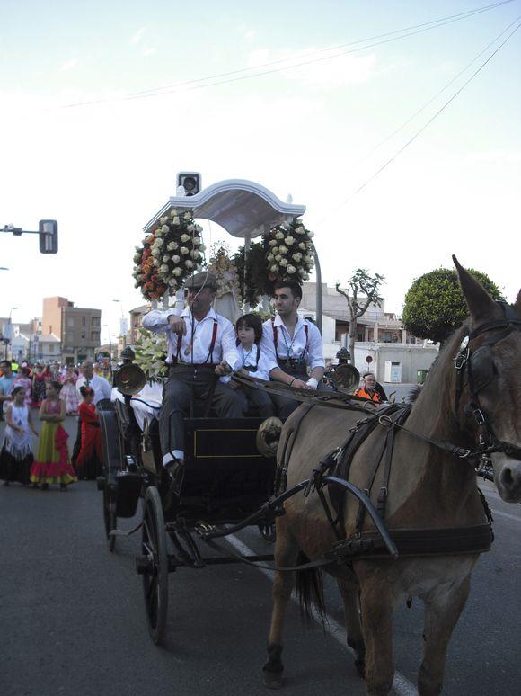 La Blanca Paloma protagonista un a+¦o m+ís en Las Torres de Cotillas 3