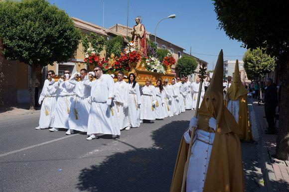 Procesi+¦n del Viernes Santo Las Torres de Cotillas
