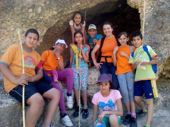 El taller juvenil de ocio saludable del barrio del Carmen torre+¦o se fue de excursi+¦n 2