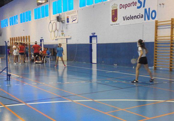 Las Torres de Cotillas fue sede de la II Concentraci+¦n de Escuelas de B+ídminton de la Regi+¦n de Murcia