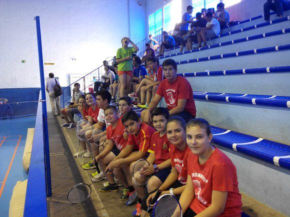 Las Torres de Cotillas fue sede de la II Concentraci+¦n de Escuelas de B+ídminton de la Regi+¦n de Murcia3