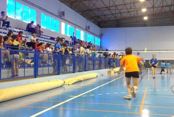 Las Torres de Cotillas fue sede de la II Concentraci+¦n de Escuelas de B+ídminton de la Regi+¦n de Murcia4