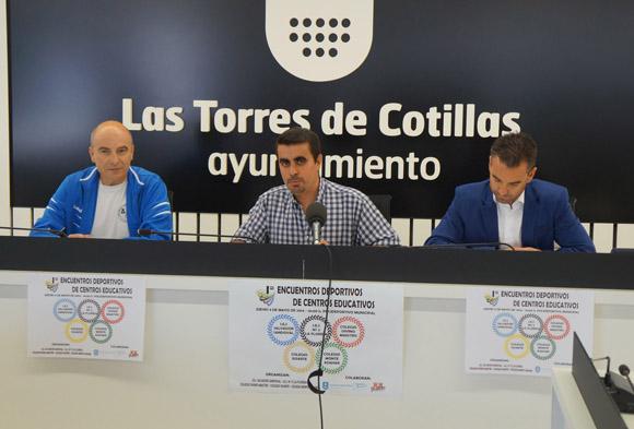 Las Torres de Cotillas vivir+í la primera edici+¦n de sus Encuentros Deportivos de Centros Educativos