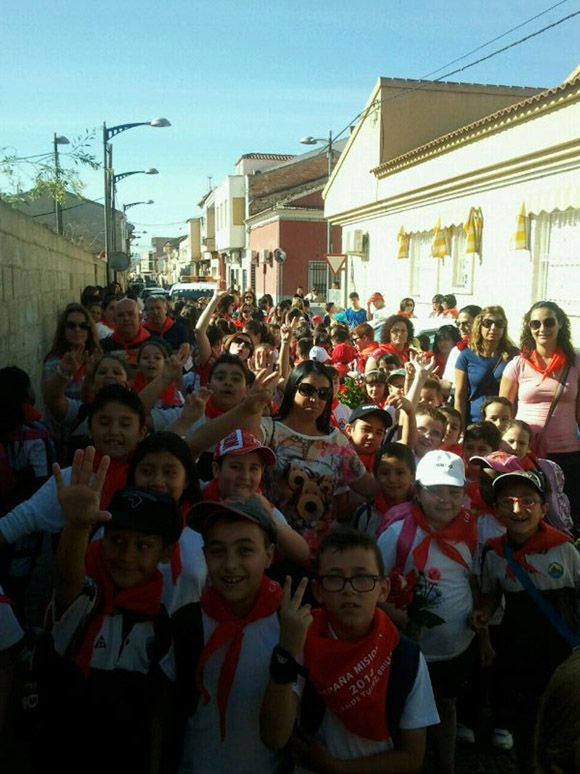 Los escolares del colegio torre+¦o ÔÇ£Divino MaestroÔÇØ muestran su lado m+ís solidario