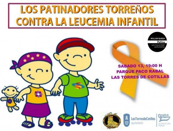 Jornada patinaje contra la leucemia Las Torres de Cotillas2 e1410514953468