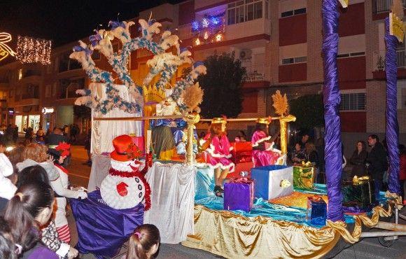 La Cabalgata de Reyes da por concluida la Navidad de Las Torres de Cotillas11 e1420640405683