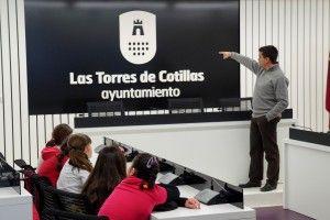 """El Ayuntamiento torreño se abre a los alumnos del CEIP """"San Pablo"""" de Murcia 4"""