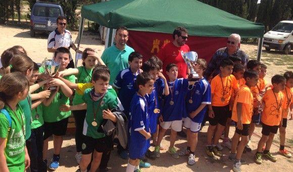 Las Torres de Cotillas albergó una nueva final del campeonato regional de rugby touch de deporte escolar3 e1430322199261