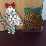 Llegan los primeros adornos del concurso escolar navideño de Las Torres de Cotillas