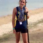 La piragüista torreña Silvia Tomás se cuelga cinco medallas en el Europeo de clubes de dragonboat