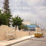 Muro polideportivo Las Torres de Cotillas