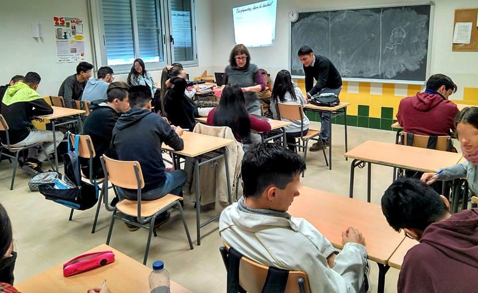 Los escolares torreños comienzan sus aportaciones a los presupuestos participativos IES La Florida