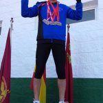 El atleta Ángel Salinas vuelve a hacerse con la triple corona en el Regional de veteranos3