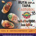 Las Torres de Cotillas se va de ruta de la tapa por el Carnaval