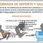 AFES conmemora el 'Día Internacional del Deporte para el Desarrrollo y la Paz'