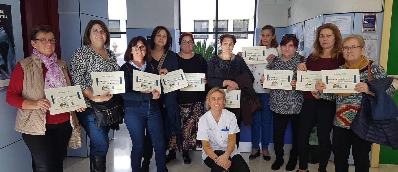 Finaliza el taller de apoyo a cuidadores del Centro de Salud de Las Torres de Cotillas 1