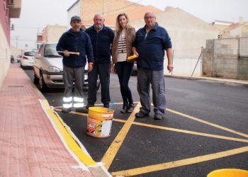 Los programas de empleo público darán este año trabajo a diez personas en Las Torres de Cotillas