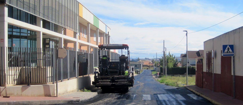 Comienzan las obras de mejora de diversas calles en el barrio del Carmen2