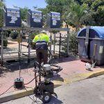 Los 35 contenedores soterrados de Las Torres de Cotillas pasan su revisión anual2