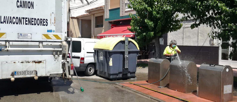 Los 35 contenedores soterrados de Las Torres de Cotillas pasan su revisión anual3