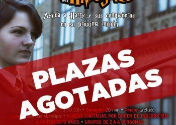 """Escape room """"Harry Potter y el rescate del hipogrifo Las Torres de Cotillas SIN PLAZAS"""