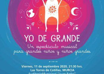 """Espectáculo musical """"yo de grande"""" Las Torres de Cotillas 1"""