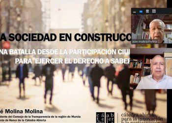 Las Torres de Cotillas trata la participación ciudadana para el desarrollo de la sociedad con José Molina