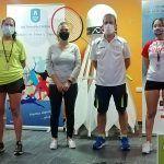 El Bádminton Las Torres se cuelga 10 medallas en la primera prueba del circuito nacional senior5