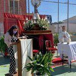 La Florida agasaja a su patrona la Virgen del Pilar con una misa huertana el día de su santo3