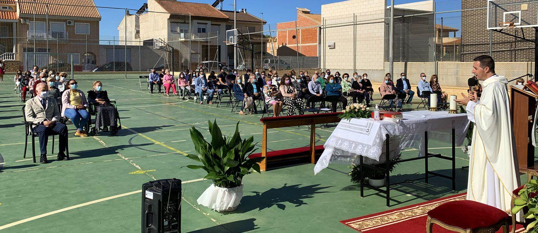 La Florida agasaja a su patrona la Virgen del Pilar con una misa huertana el día de su santo4