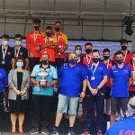 Los juveniles del club petanca La Salceda campeones de España de tripletas2