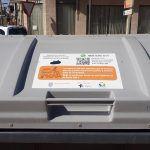 Vinilos informativos en los contenedores de Las Torres de Cotillas para facilitar el reciclaje3